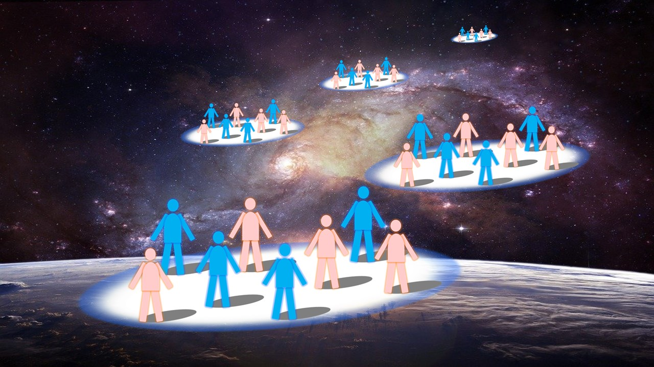神様が分霊を地球に派遣し始めた